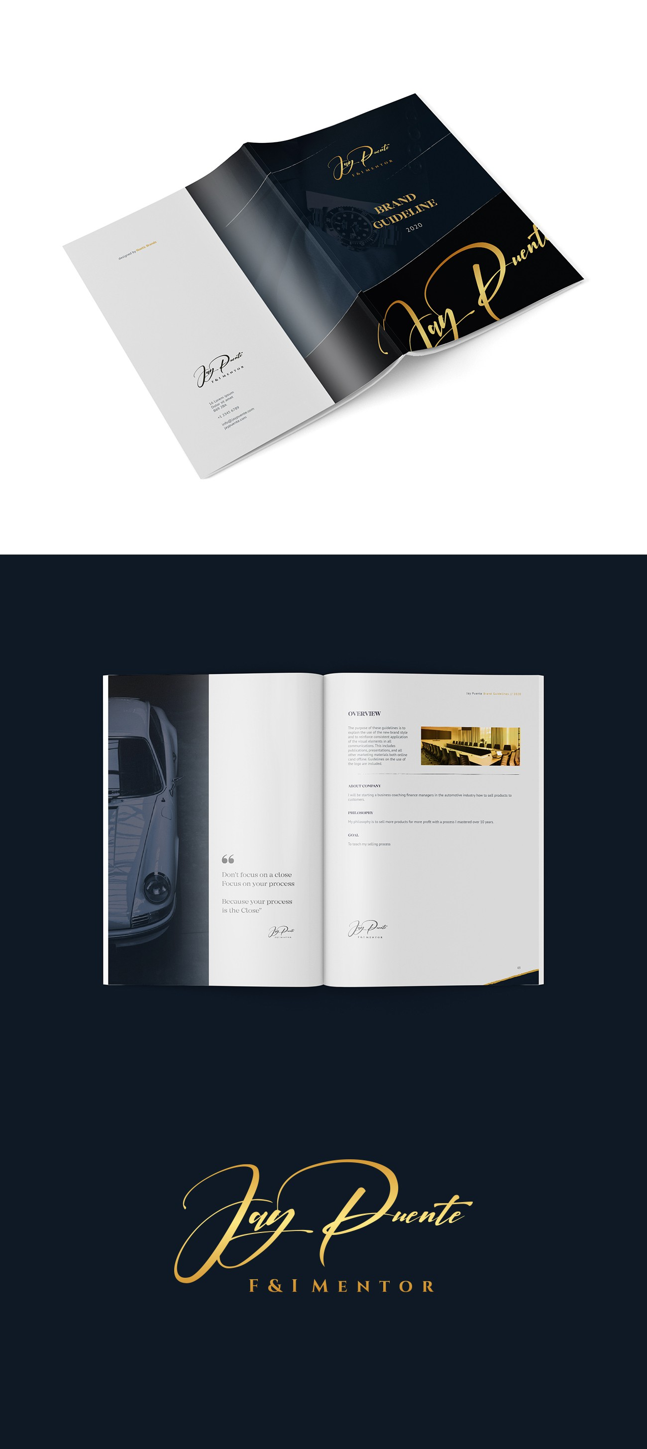 Jay Puente - Standard Brand Guide