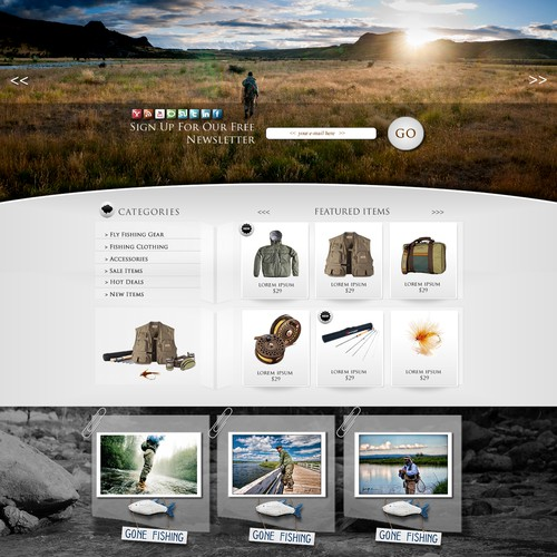 eCommerce Template Design Contest - Multiple Winners Guaranteed!