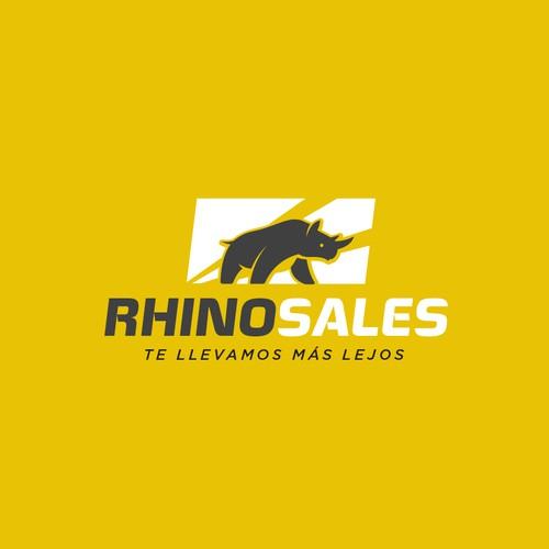 Logo concept for RhinoSales