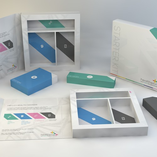 Packaging design for Starter Kit