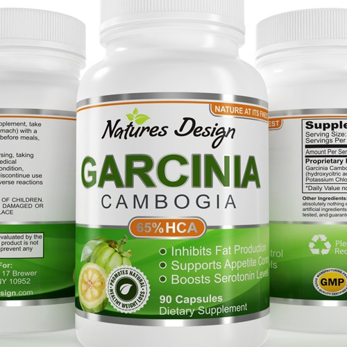 Design label for major health supplement company