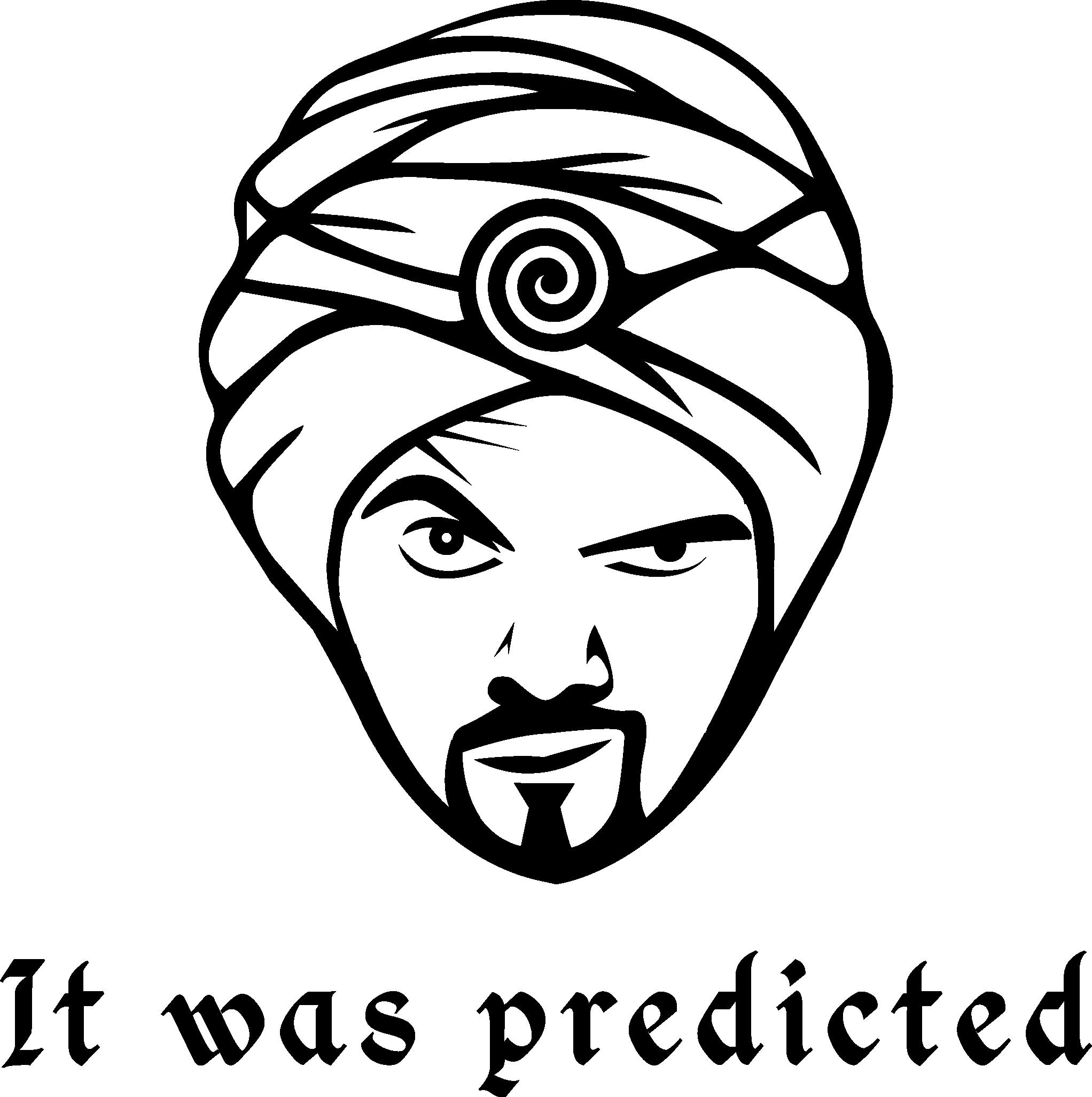 Iconic logo - flat and bold