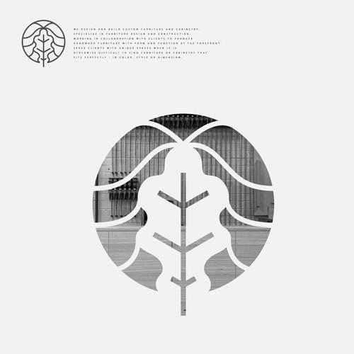 Design a clean logo for modern craftsman and furniture designer