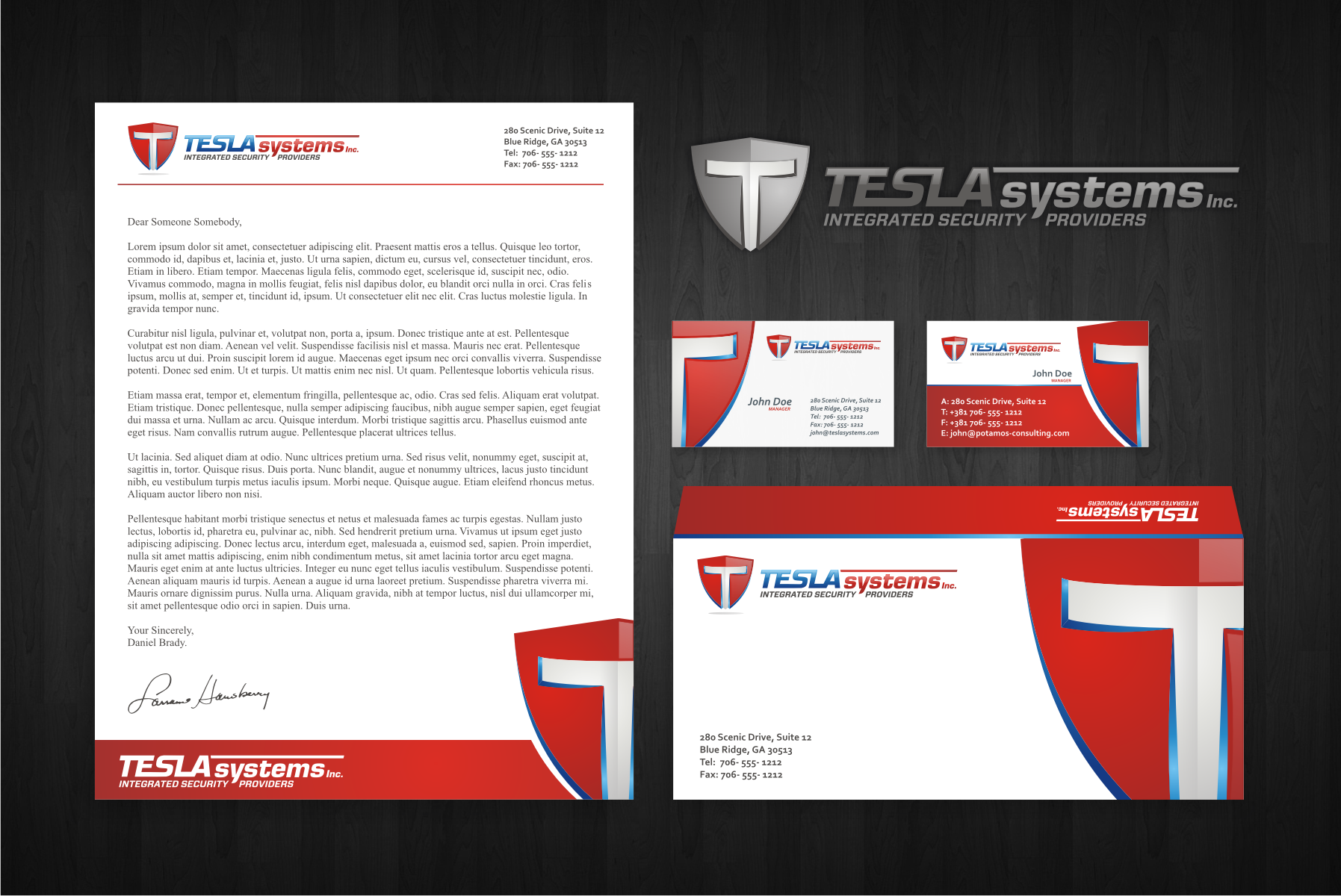 Create the next logo for TESLA SYSTEMS, INC.