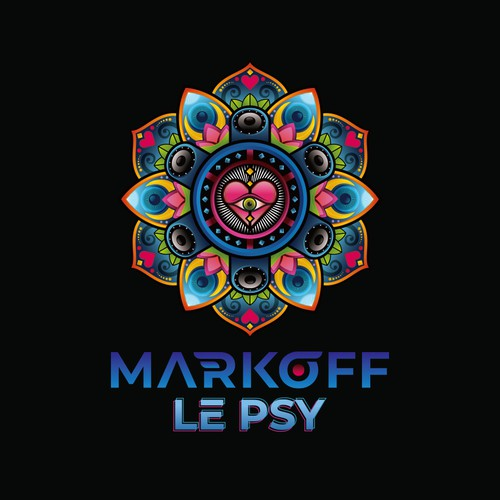 Markoff Le PsY Logo concept for music entertainment