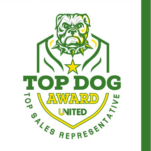 Company Award Logo for Top Salesperson