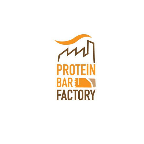 Logo for protein bar factory