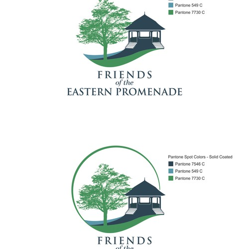 Create a logo for Friends of the Eastern Promenade