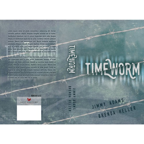 Simple Time Travel Scifi Cover Design