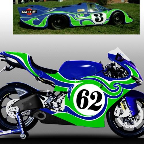 Design a Custom Ducati Desmosedici Motorcycle!