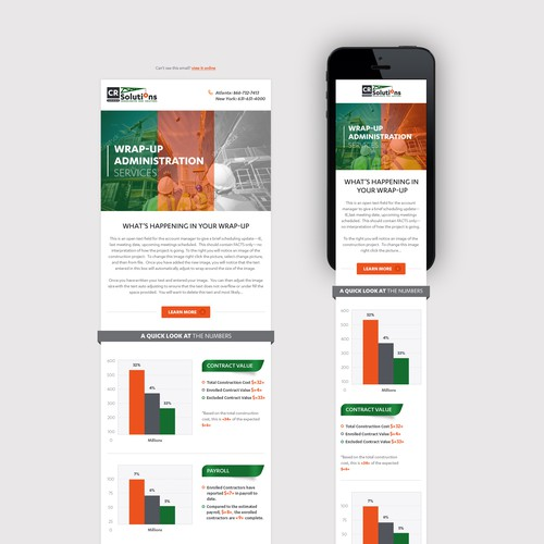 Redesign Client Informational Newsletter Using Publisher - Clean, Modern, Flat Style