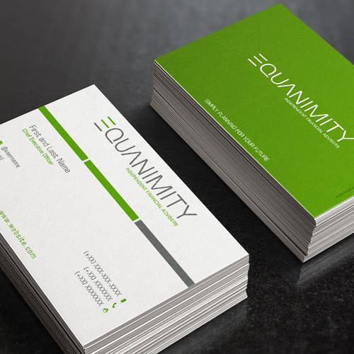 Business Card for Equanimity