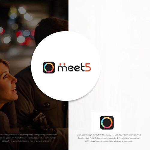 Logo Contest Winning Design Meet5