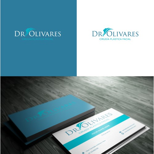 Simple, clean and professional logo concept for Dr. Olivares.