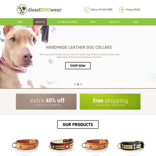 Dog care design