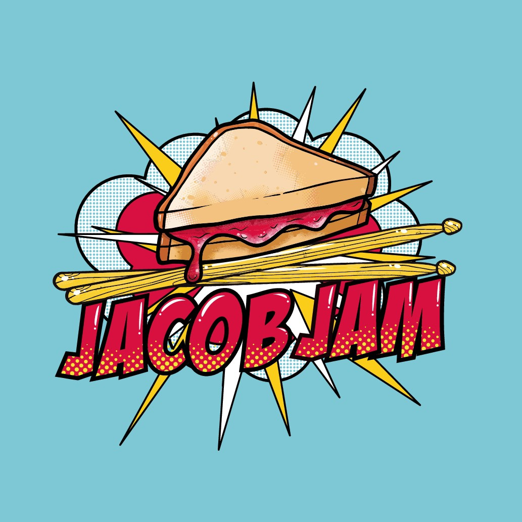 Jacob Jam - New Band - Needs Peanut Butter and Jelly Logo.