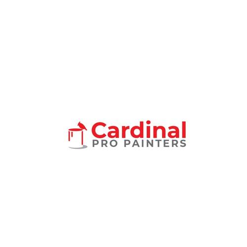 Cardinal Pro Painters logo proposition