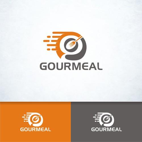 Creative logo design for Gourmeal