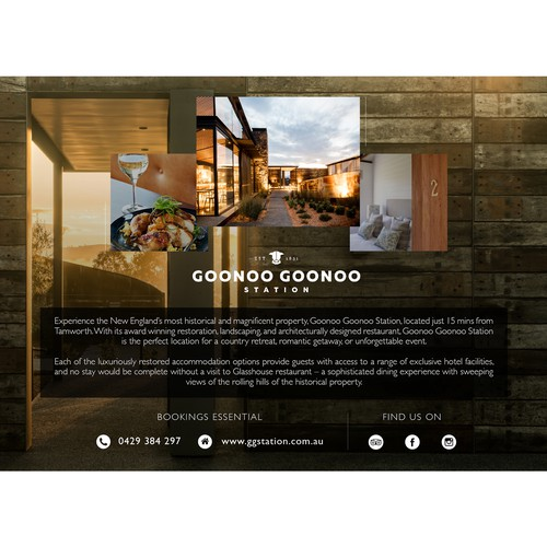 Goonoo Station | Magazine Advertising