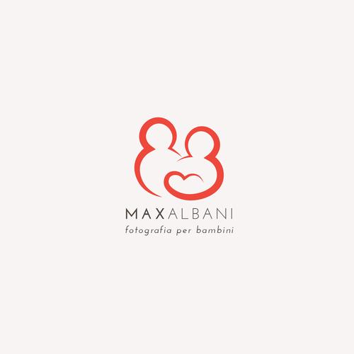 Logo for 'Max Albani - fotofrafia per bambini'