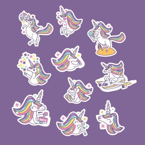 Unicorn Sticker Pack