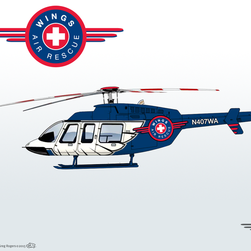 Design a Helicopter Paint Scheme
