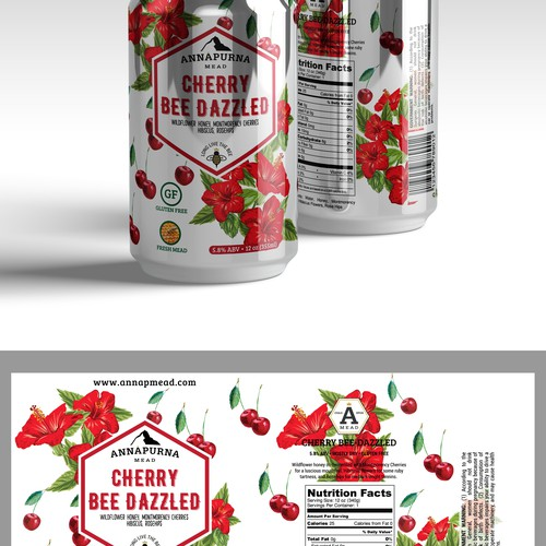 Packaging design concept for canned drink