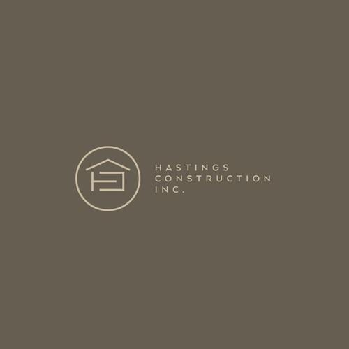 Logo concept Hasting Construction (Construction)