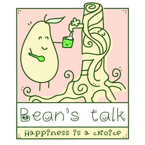 Bean's talk (beancurd dessert) happy!