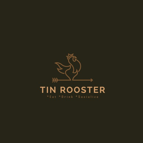 Logo for Tin Rooster restaurant