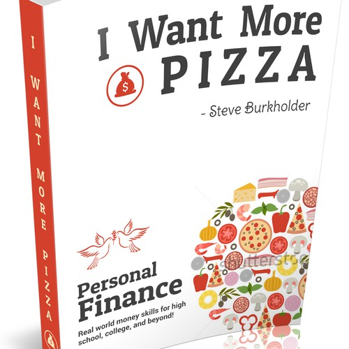 eBook Cover 3 For I Want More Pizza