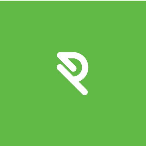 R letter logo, for sale
