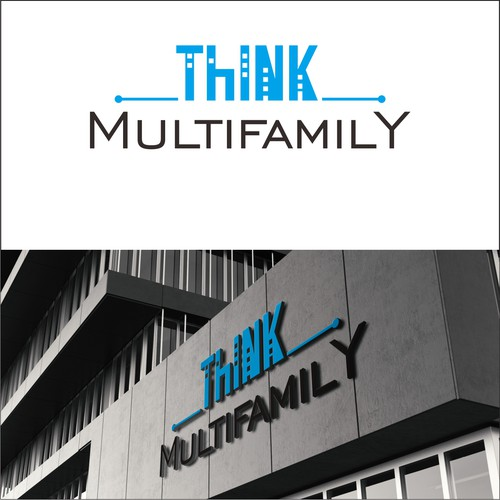 logo concept fo Think Multifamily