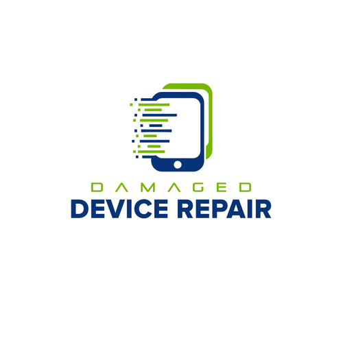 Damaged Device Repair logo design