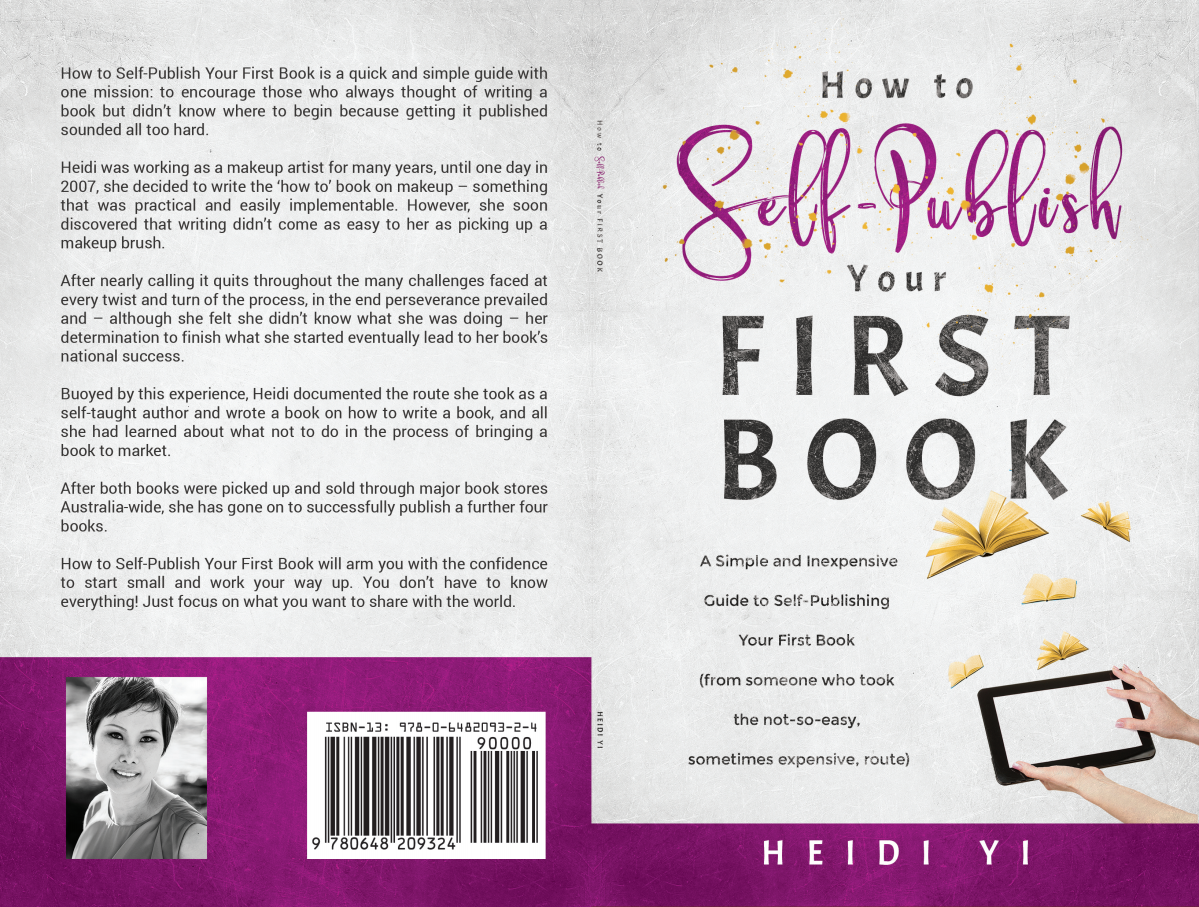 2 x Book series: Writing and Publishing print and eBook covers