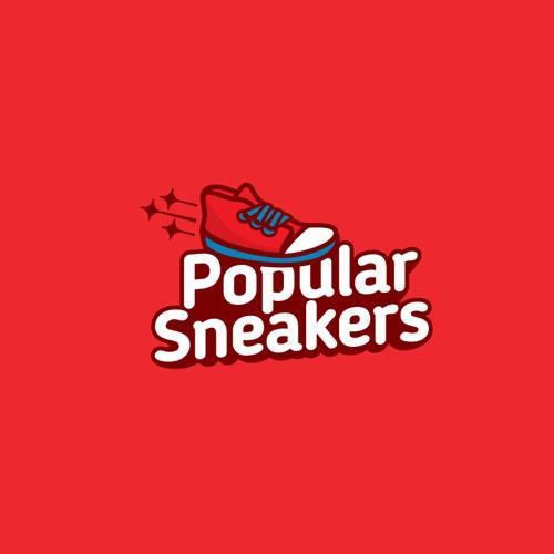 Popular Sneakers Logo
