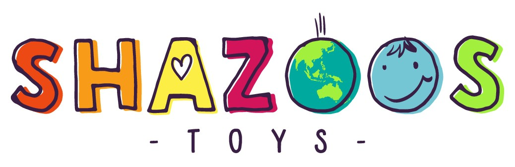 Design an imaginative and bold new logo for toy brand Shazoos