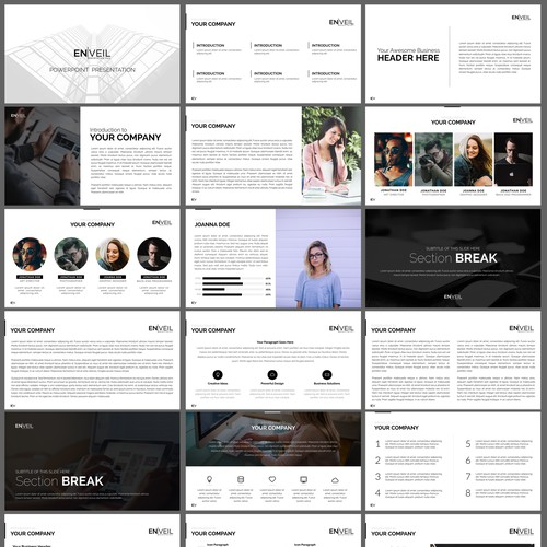 Powerpoint Presentation for EN|VEIL