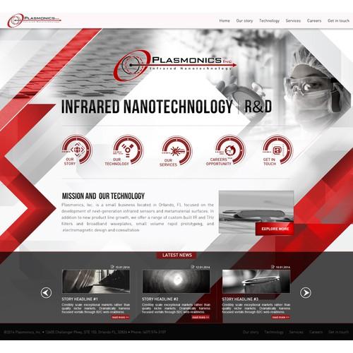 Next-Gen Tech Firm needs Website Design - Guaranteed Winner!