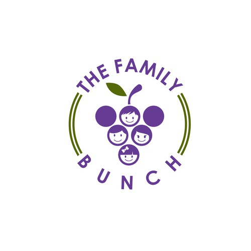 Emblem Logo work for The Family Bunch