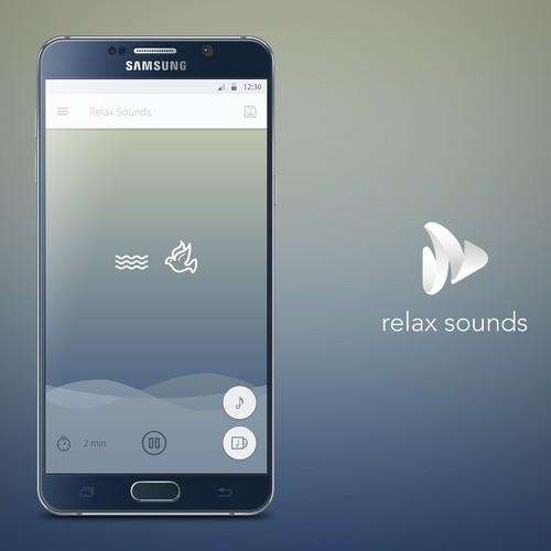 App design for relax sounds
