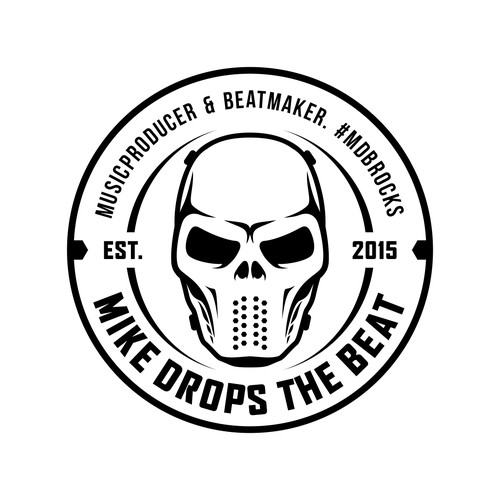 Mike Drops the Beat logo