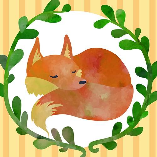 Little sleeping fox