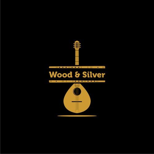 Wood & Silver