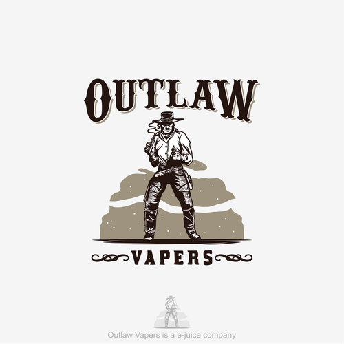 Logo Concept for Outlaw Vapers