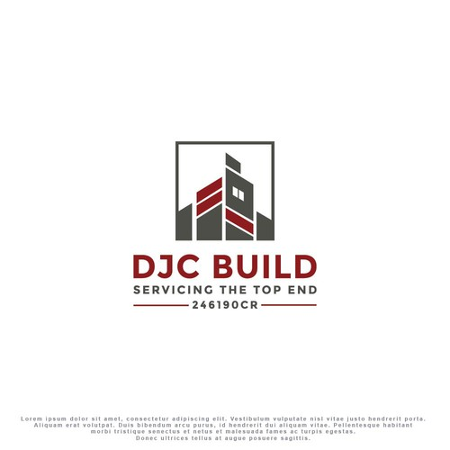 Logo concept for construction