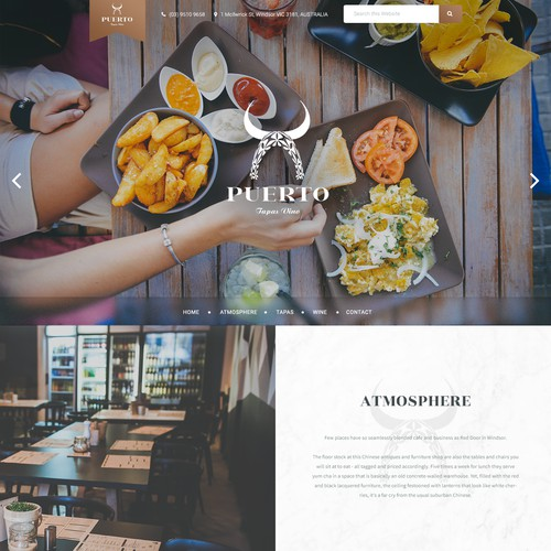 A new 'chic' website for Puerto.