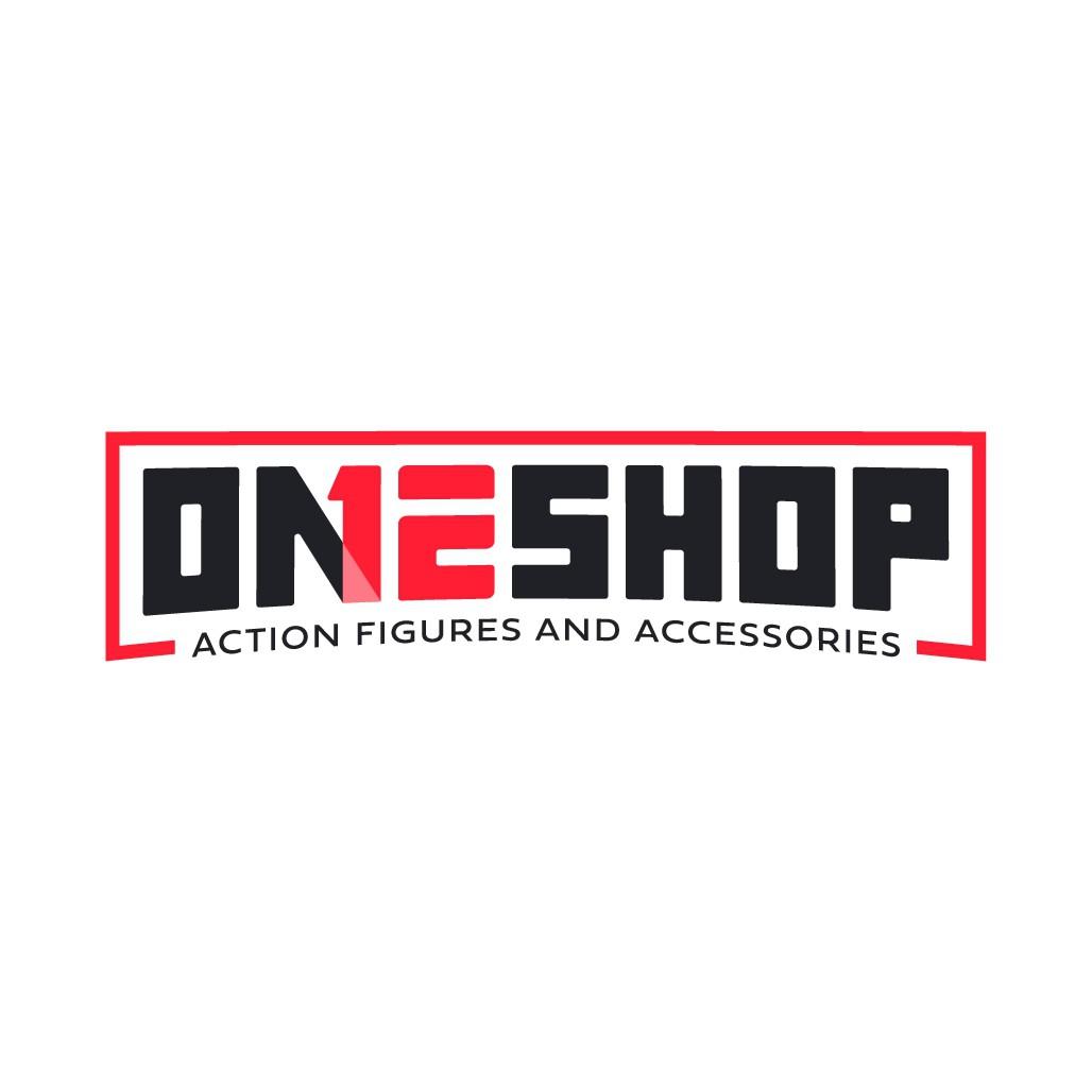 Logo for fun action figure ecommerce shop.