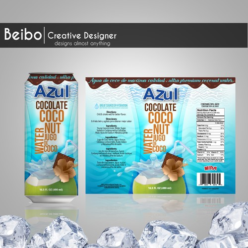 Product Flavor Extension - Chocolate Coconut Water