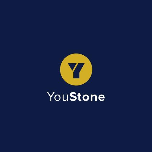 Krachtig en minimalistisch logo voor YouStone